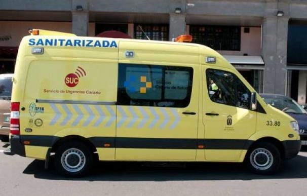 Efectivos del Consorcio de Emergencias de Gran Canaria acudieron al lugar del incidente