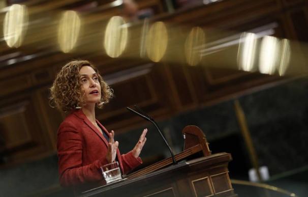 Fotografía Meritxell Batet, en la tribuna del Congreso / EFE