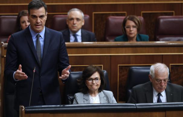 """Sánchez está """"dispuesto a hablar"""" con Urkullu del traspaso de prisiones."""