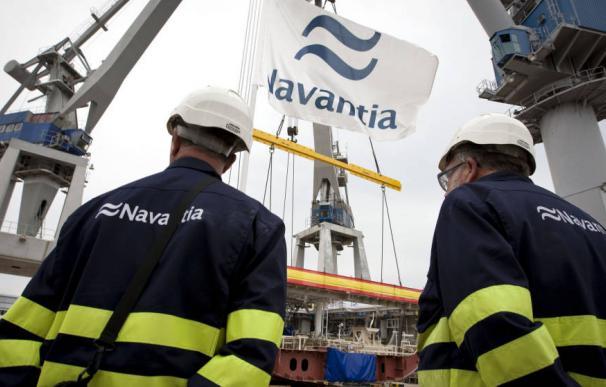 Fotografía operarios de Navantia / EFE