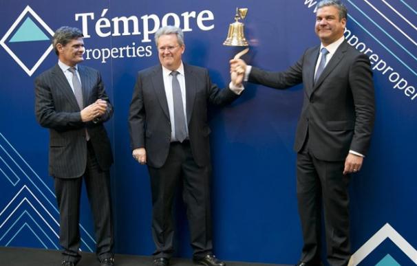 Fotografía salida a Bolsa Témpore Properties / EP