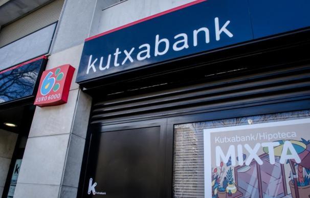 Sucursal, banco Kutxabank (Foto archivo)