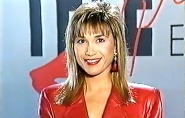 Julia Otero en una captura del arranque del primer 'Telepasión'