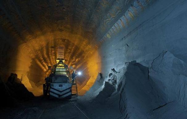 Imagen de una de las minas de la compañía Uralkali