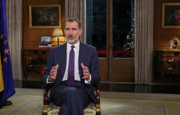 Discurso del Navidad del Rey 2018