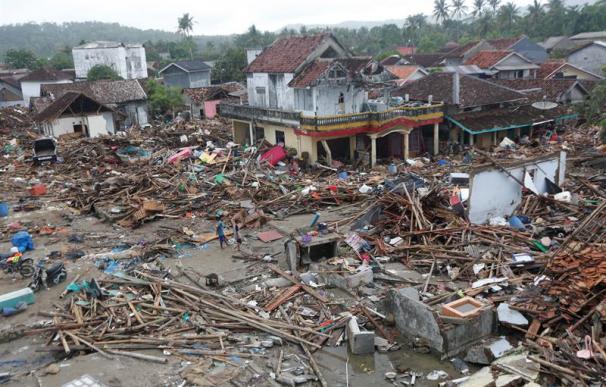 Fotografía Tsunami Indonesia