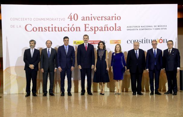 La Constitución española cumple 40 años.