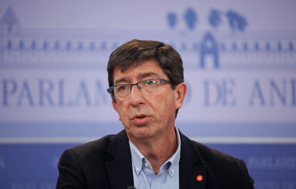 Juan Marín, informa sobre los acuerdos programáticos alcanzado con el PP-A