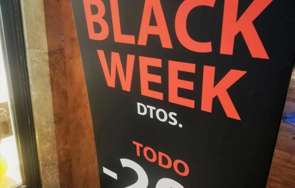 Comercio con descuentos toda la semana por el 'Black Friday'
