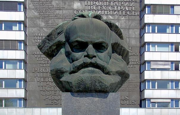 Monumento a Marx en Chemnitz, en la antigua RDA / Pixabay