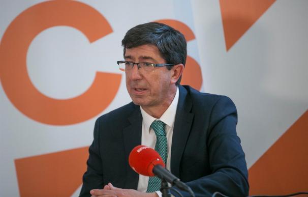 El líder de Ciudadanos en Andalucía, Juan Marín (Foto: Europa Press)