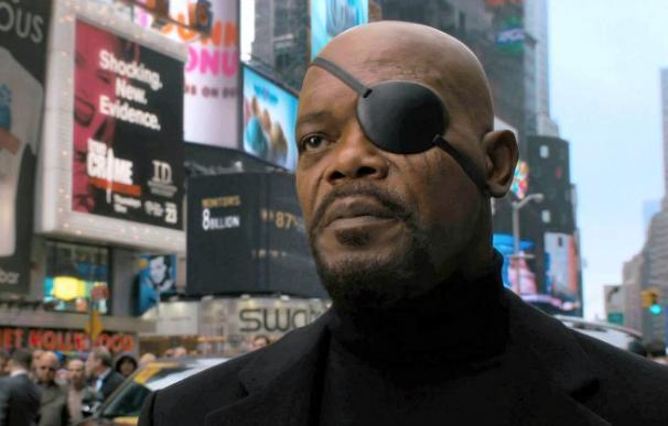 Samuel L. Jackson en su papel de 'Los Vengadores'