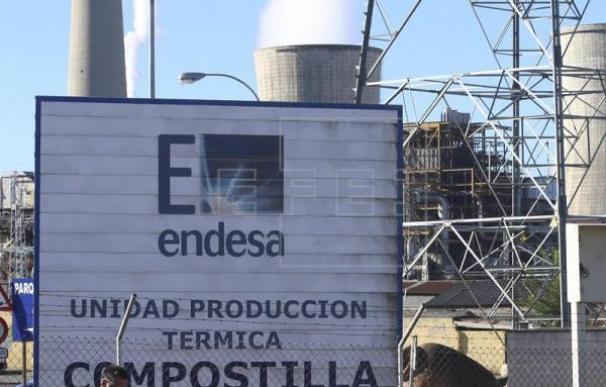 Central de Compostilla, propiedad de Endesa.