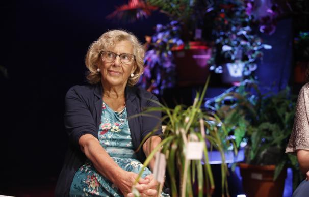 La Alcaldesa de Madrid, Manuela Carmena, presenta la nueva programación del cent