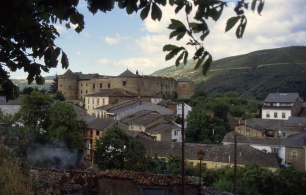 Vista de la localidad leonesa de Valtuille de Arriba