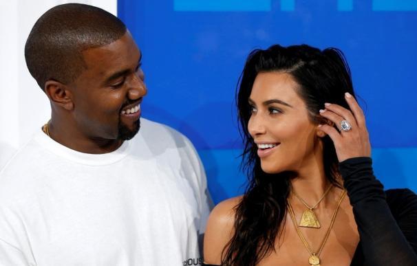 Kim Kardashian y su marido, Kanye West
