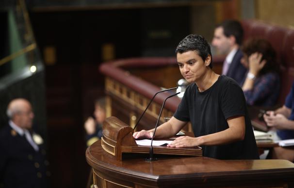 Lucía Martín interviene en el Congreso