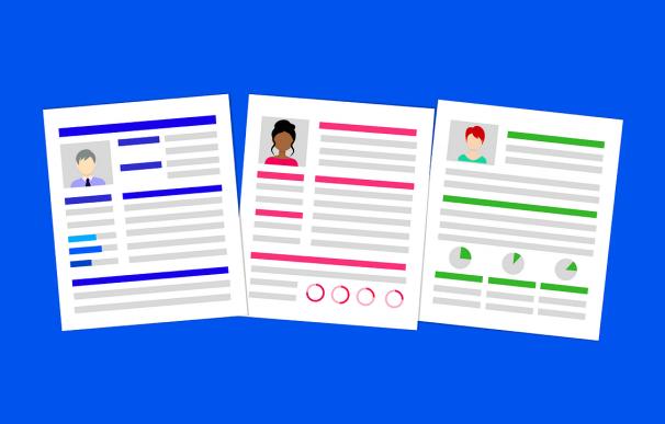 El diseño del CV es decisivo para encontrar un empleo. / Pixabay