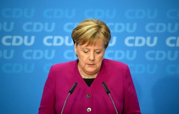 Merkel anunció que dejará la primera línea política al final de la legislatura.