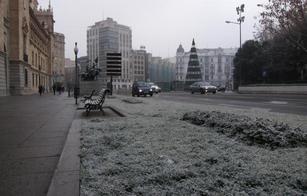 Frío Y Cencellada En Valladolid