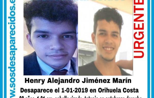 Henry Alejandro Jiménez Marín pasó el Fin de Año en su casa de Orihuela-Costa