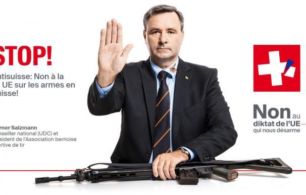 El cartel con el que llamaban a movilizarse los defensores de las armas