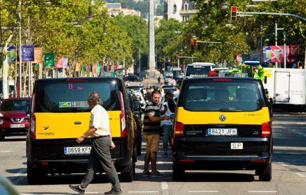 Taxi huelga Barcelona