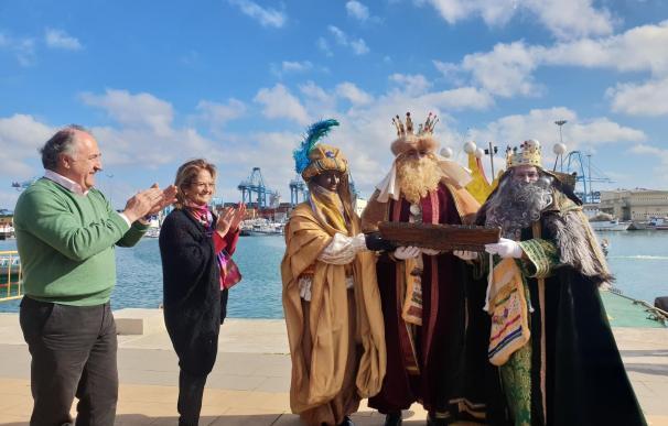 Los Reyes Magos llegan a Algeciras