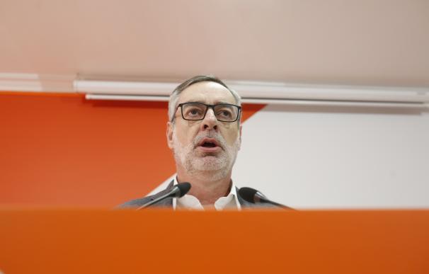 Villegas, secretario general de Cs, este lunes en Sevilla