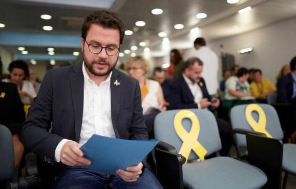 El vicepresidente del Govern y conseller de Economía, Pere Aragonès