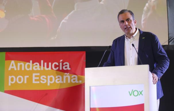 El secretario general de VOX, Javier Ortega