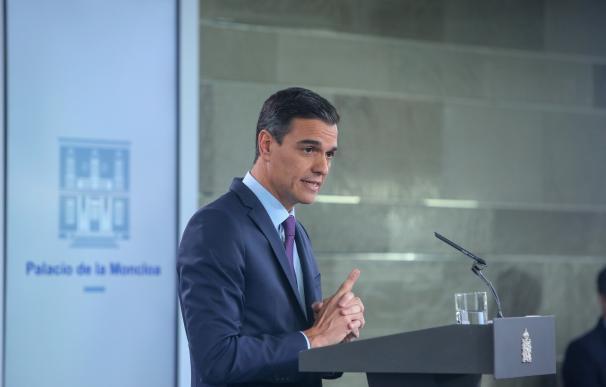 Pedro Sánchez hace balance de gestión tras pasar seis meses en la Moncloa