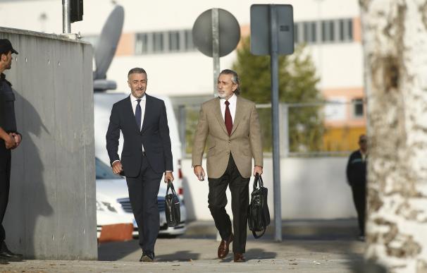 Francisco Correa a su llegada al juicio por Gürtel