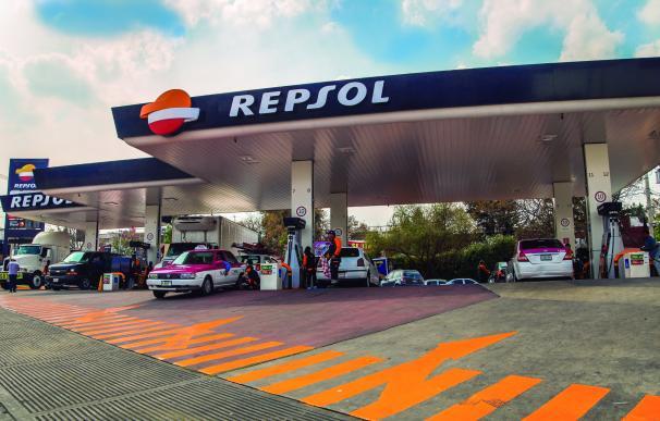 Gasolinera de Repsol en México