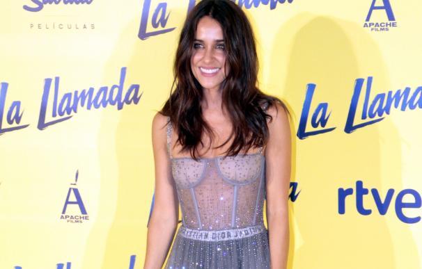 Macarena García, feliz y radiante en la premiere de 'La Llamada'