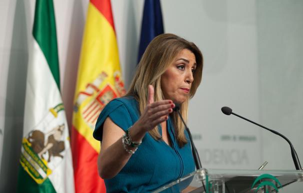 En Sevilla, la presidenta de la Junta, Susana Díaz, preside una reunión extraord