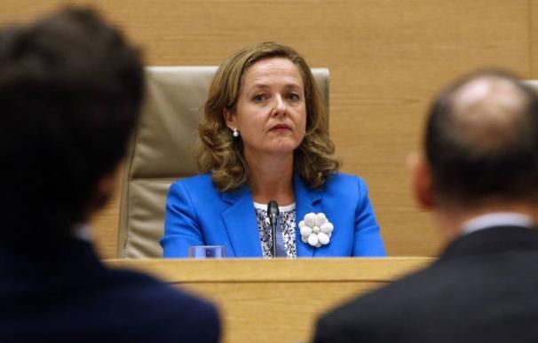 La ministra de Economía y Empresa, Nadia Calviño / EFE
