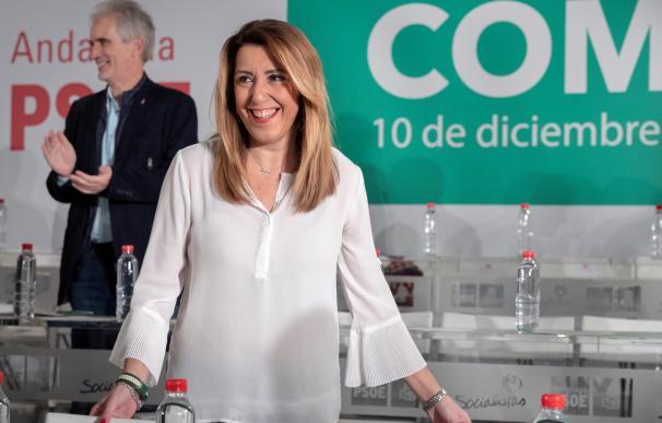 Susana Díaz no se presentará a la investidura