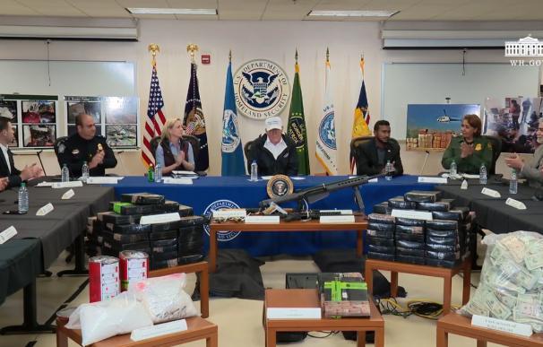 """Trump tiene """"casi"""" decidido declarar la """"emergencia nacional"""" en la frontera"""