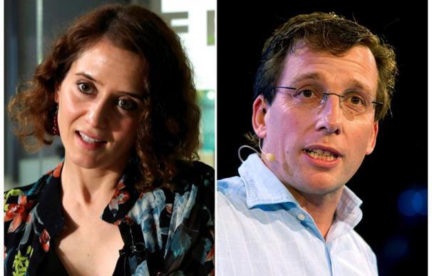 Díaz Ayuso y Martínez-Almeida, candidatos del PP para Madrid