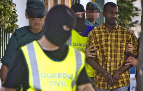 El momento de la detención de Kamal Joao Carlos Luzito en junio de 2014 (EFE)