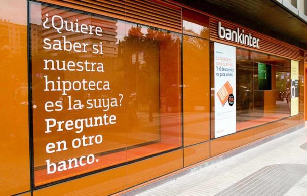 Fotografía Sucursal Bankinter oferta hipotecas / EFE