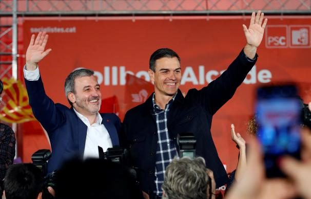 Fotografía Pedro Sánchez Jaume Collboni / EFE