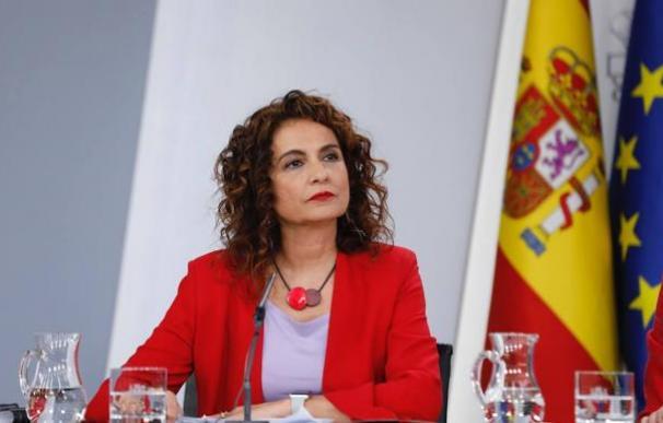 María Jesús Montero, en rueda de prensa Consejo de Ministros / EP