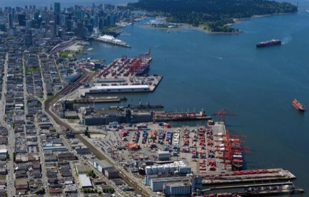 Imagen del Puerto de Vancouver / EFE