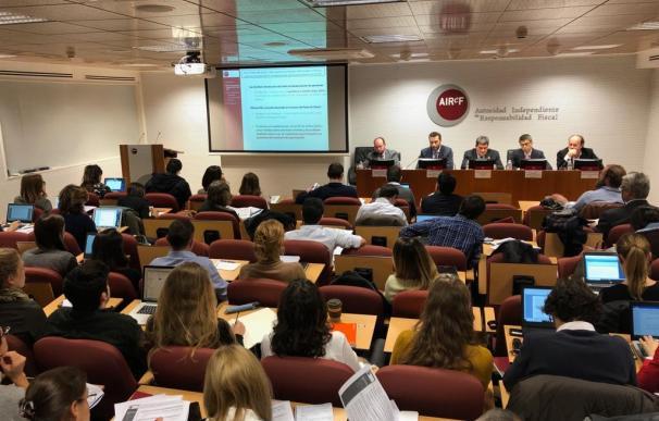 Imagen presentación informe pensiones Airef / Airef