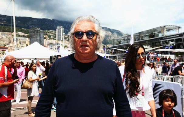 Flavio Briatore en el GP de Mónaco.
