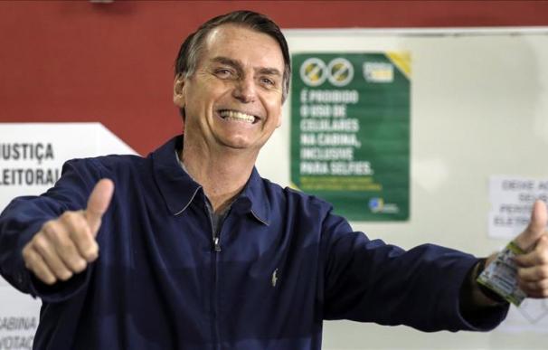 El presidente de Brasil, Jair Bolsonaro. (EPA-EFE/ANTONIO LACERDA)