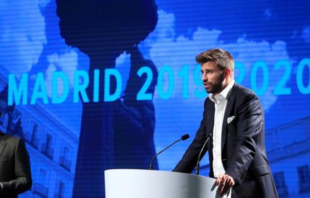 El futbolista Gerard Piqué, fundador y presidente de la empresa Kosmos (EFE)