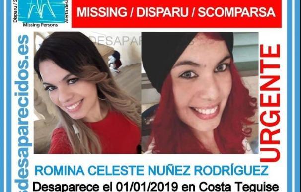 Romina Celeste Núñez desapareció en Nochevieja en Lanzarote